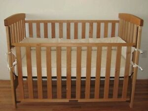 baby crib with rollers