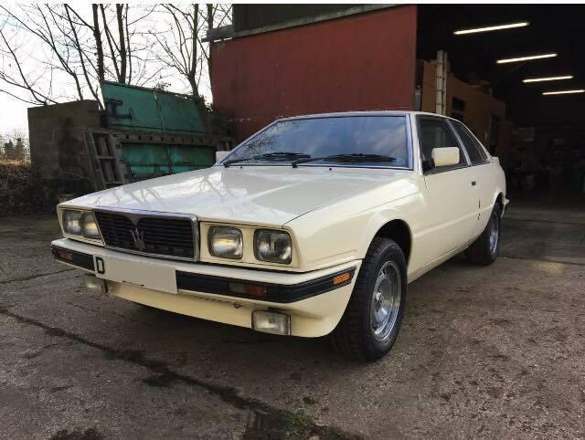 Maserati-BiTurbo-S-25-1987-Twin-Turbo-Classic-Car-Barn-find-Project