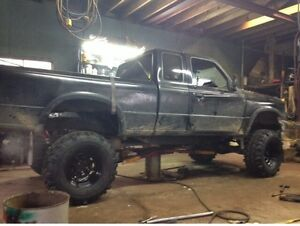"1994 ranger project almost done 9"" lift  open to trade"