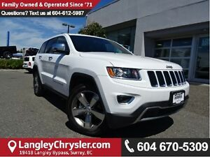 2016 Jeep Grand Cherokee Limited W/ BLUETOOTH & PREMIUM LEATH...