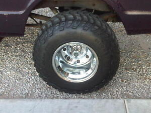 """Set of 4 72 Chevy 6 bolt rims 15""""x12"""" or 15""""x10"""""""