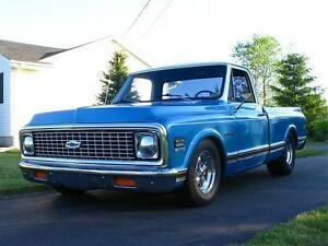 TRADE MY 1972 C10 FOR A 4X4