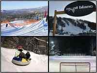 CHALET À LOUER 3 minutes du Mont-Blanc et 15 de Tremblant
