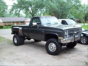 1981-1987 Chevy 1 ton Dually