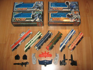 TRANSFORMERS G1 DIACLONE RAIDEN JAPAN EXCLUSIVE MINT-IN-BOXES
