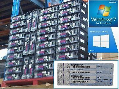 ScrapPC 32/64 bit Windows 7 Professional Full Version COA License Sticker