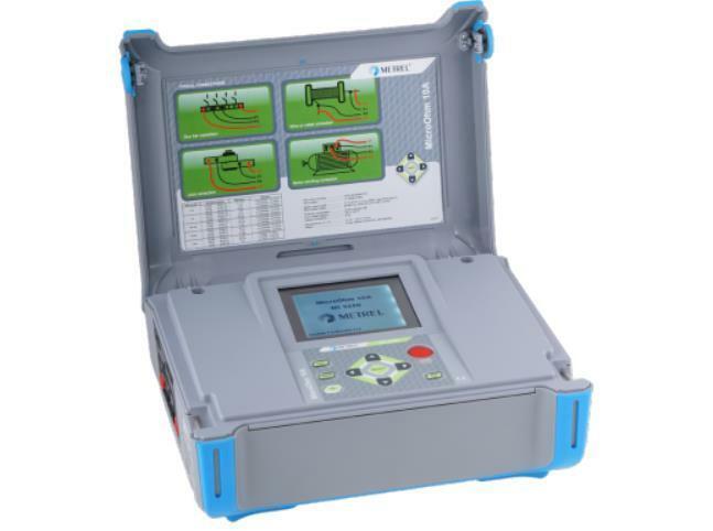 Metrel MI 3250 MicroOhm 10A Low Resistance Ohmmeter DLRO 10 Amp Ohmmeter