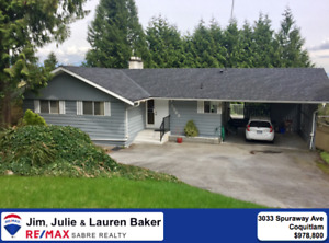 Large Lot & House in Ranch Park!