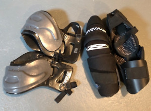 lacrosse shoulder and arm pads