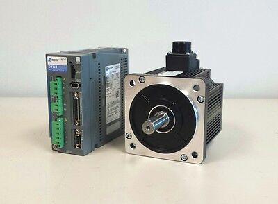 Ac Servo Motor Drive 1.0kw Kit Cnc Router Mill Mach3 Free Uscanada Shipping