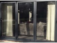 3 Door Bi Folding Door UNGLAZED ( fitted for less Than A Week )