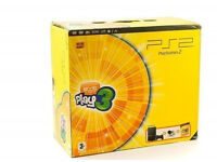 Sony Playstion 2 Slim with Eye Toy Play 3 - Boxed