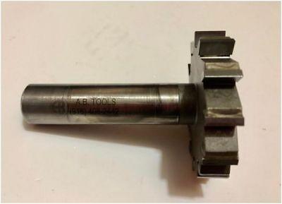 A.b Tools Carbide Tipped Keyseat Cutter 2-12 Dia X W .50 12fl 34 Shk Used