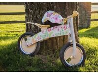 Brand new Kiddimoto balance bike