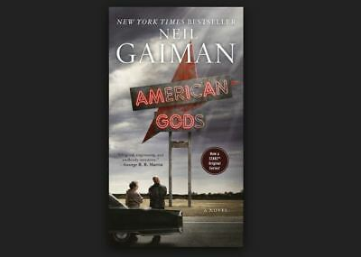 American Gods By Neil Gaiman A Paperback Book Free Usa Shipping Tv Series
