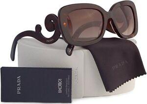 NEW Prada SPR27O-2AU-6S1 54mm Women's Baroque Havana Sunglasses