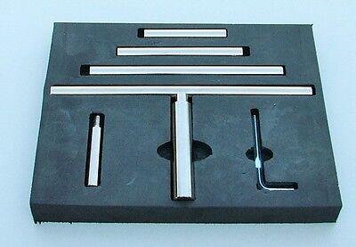 LathePRO WP0238 6pc Wood Turning Tool Rest Set