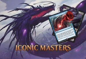 P-Market Games has ICONIC MASTERS MTG!