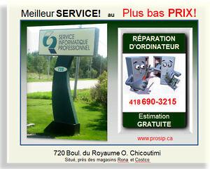 SERVICE INFORMATIQUE (Réparation d'ordinateur) PLUS BAS PRIX Saguenay Saguenay-Lac-Saint-Jean image 1
