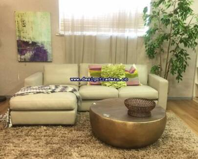 1/2 PRICE BRAND NEW FREEDOM LEATHER MODULAR SOFA CHAISE LOUNGE