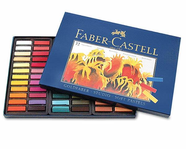 Faber-Castell Goldfaber Cardboard Box Set of 72 Half Sticks - Assorted