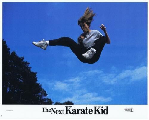 NEXT KARATE KID - 1994 - Original 11x14 Lobby Card Set of 8 Cards - HILARY SWANK