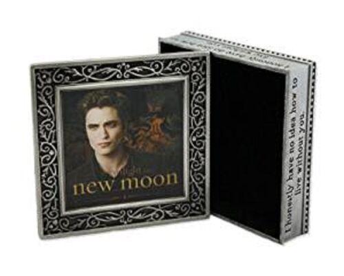 """Twilight New Moon """"Edward"""" Metal Jewelry Box - NIB"""