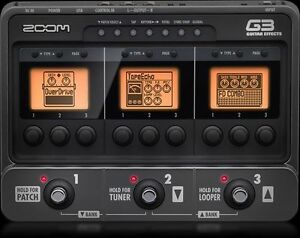 Zoom G3 Guitar Pedal