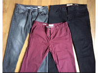Men's Next 36R jeans and trousers