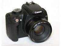 Canon EOS 350D + 50mm 1.8 lens - Mint condition
