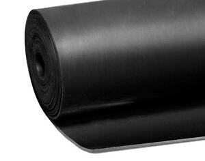 Gummimatte Gummiboden Bodenschutzmatte Gummiplatte NR/SBR 140 breit 2 mm stark