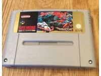 Street Fighter II SNES (PAL) Cartridge only. USED/GOOD condition.