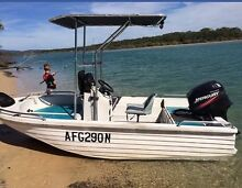 Polycraft boat 50 Hp Mercury Coffs Harbour 2450 Coffs Harbour City Preview
