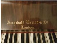 Archibald Ramsdon Upright Piano - Be quick as it has to go