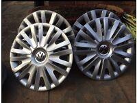 MK 6 Golf Wheel Trims