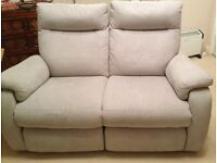 2-seater reclining sofa in great condition