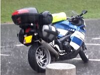 Givi top box and rack - BMW K1200S K1300S