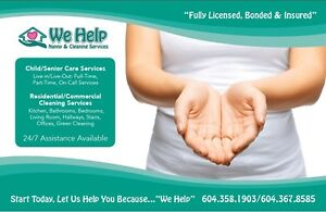 ***Need a Nanny/Caregiver?? We can help!*** North Shore Greater Vancouver Area image 1