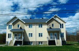 Beau grand 4 1/2 à louer construction récente à Ste-Julienne.