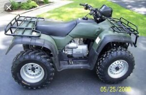 Looking for a clean Honda 4 wheeler