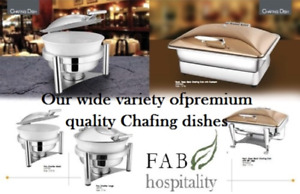 EVENT RENTALS & RESTAURANT EQUIPMENT- Chafing dish,Chairs, Table