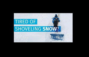 SNOW BLOWING!!!!!!!!!