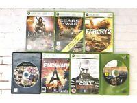 Xbox 360 Bundle 7 games