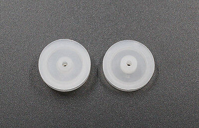 10pcs 18mm Motor Synchronous Belt Plastic Pulley Wheel For Diy Toy Accessories