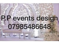 Supply luxury wedding stages and deco