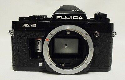 Зеркальные фотоаппараты Black FUJICA AX-3 35mm