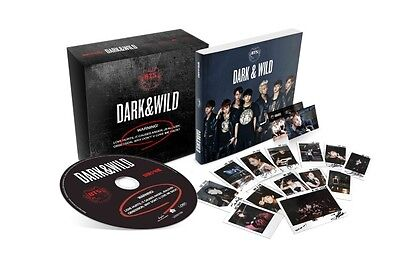 BTS-[DARK & WILD] 1st Album CD+120p PhotoBook+PhotoCard+Store Gift K-POP Sealed