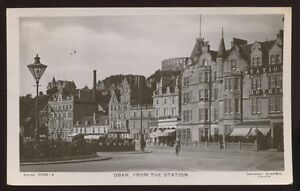 Scotland-Argyllshire-OBAN-From-The-Station-1907-RP-PPC