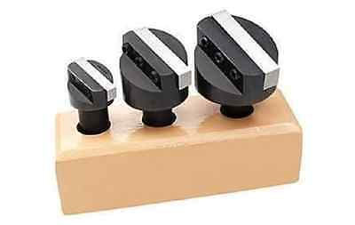 3pc 12 Shank 34 1-18 1-12 Fly Cutter Set With Hss Square Tool Bits