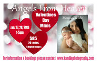 V DAY MINIS ARE HERE! Angels from heaven are mommy & me minis!